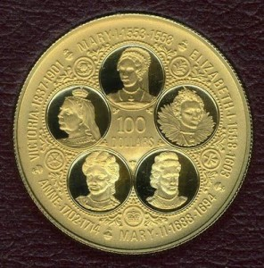 1976 Cayman Island $100 Gold Proof